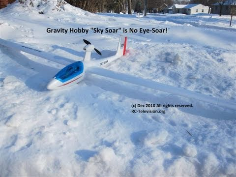 Sky Soar RC Glider is no Eye Sore! From Gravity Hobby.