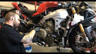 7. 2018 Ducati Panigale V4 Speciale   Accessories Install