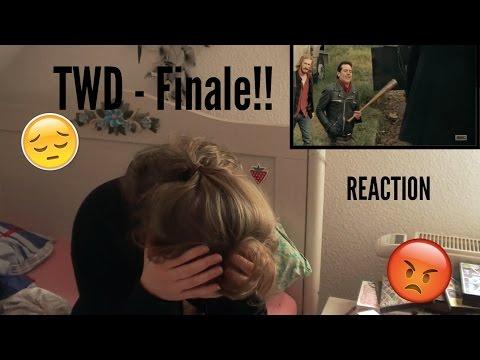 REACTION! TWD finale!!! |S7E16 |