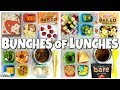 Video HOT LUNCHES and FUN SANDWICHES!🍎 School Lunch Ideas for KIDS