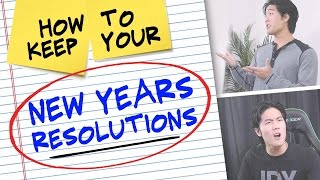 Video How to Keep Your New Years Resolutions! MP3, 3GP, MP4, WEBM, AVI, FLV Juli 2018