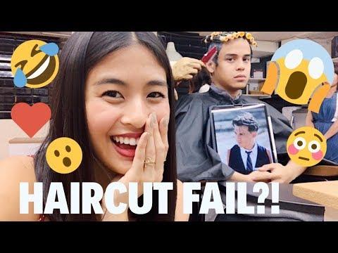 I forced Khalil to get a HAIRCUT! | Gabbi Garcia & Khalil Ramos