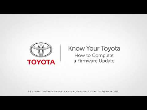 Know Your Toyota | How to Complete a Firmware Update on Toyota Vehicles