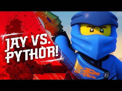 Tales from the Monastery of Spinjitzu - LEGO NINJAGO - Blue Lightning