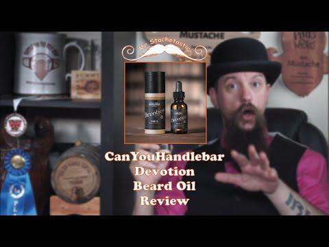 Can You Handlebar Beard Oil Devotion