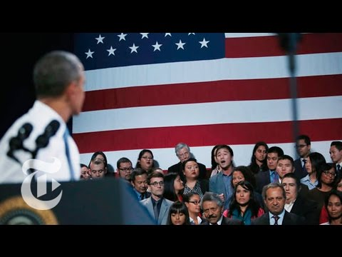 reform - Subscribe on YouTube: http://bit.ly/U8Ys7n President Obama made the case for changes in immigration policy in a speech in San Francisco during which a man he...