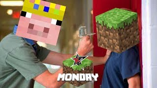 technoblade cyberbullying youtubers for 5 minutes (minecraft mondays)