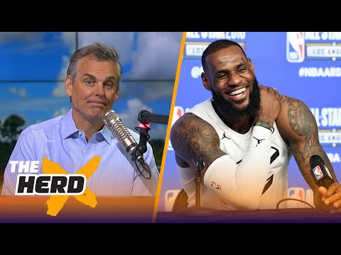 Colin Cowherd believes Cavs forward LeBron James saved the NBA All-Star Game | THE HERD