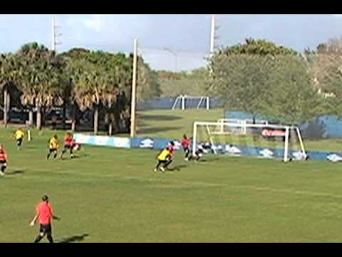 Strikers goal v Canadian Olympic Team