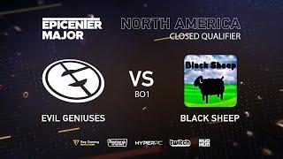 EG vs Black Sheep, EPICENTER Major 2019 NA Closed Quals , bo1 [Maelstorm & Lost]