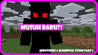Video Musuh Baru 4 Brothers?! (4B's & Elemental Stone #2) || Minecraft Animation MP3, 3GP, MP4, WEBM, AVI, FLV Oktober 2017