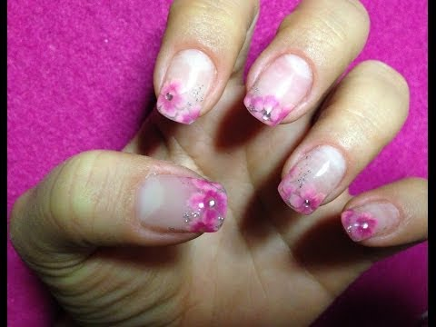 nail art gel flowers