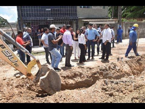 Prefeito Rui Palmeira autoriza obras no Tabuleiro do Martins