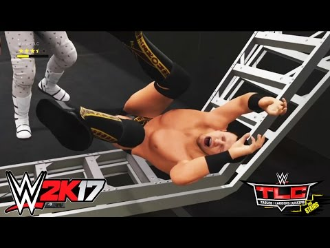 WWE TLC 2016:Intercontinental Champion The Miz vs. Dolph Ziggler (Ladder Match) WWE 2K17-Prediction