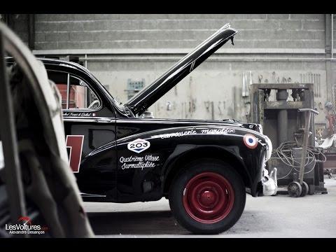 Tour Auto 2016 : Peugeot 203 & 403 en préparation