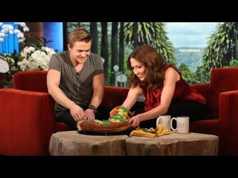 Hunter Hayes on Ellen!