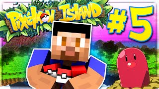 LEGENDARY POKEMON BOSS - PIXELMON ISLAND SMP #5 (Pokemon Go Minecraft Mod)