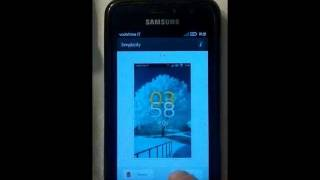 WP7 White GoLauncher EX Locker YouTube video