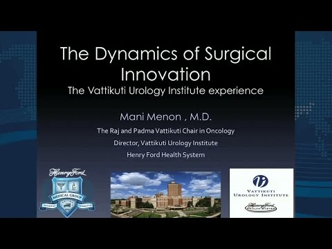The Dynamics of Surgical Innovation- The Vattikuti Urology Institute experience