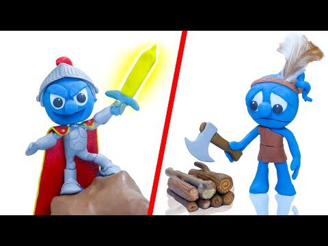 CLAY MIXER: THE KID WHO WOULD BE STINK  Play Doh Cartoons For Kids