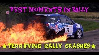 Video TERRIFYING RALLY CRASHES! | Rally Fails  | Rally Crashes | 🔥 MP3, 3GP, MP4, WEBM, AVI, FLV Agustus 2019