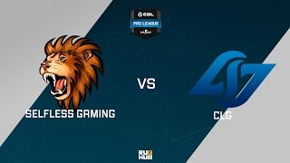 CLG vs Selfless, game 1