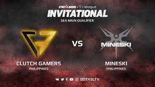 Clutch Gamers против Mineski, Вторая карта, SEA квалификация SL i-League Invitational S3
