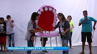 Crianças aprendem a cuidar da saúde bucal desde cedo em Marília
