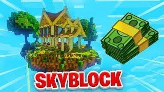 ISLAND UPGRADES! - Minecraft SKYBLOCK #12