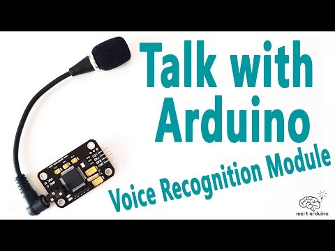 How to Talk with Arduino Board | Voice Recognition Module | Mert Arduino