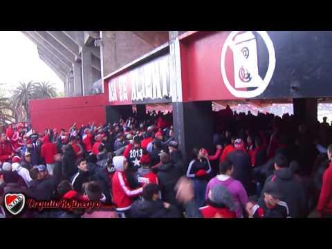 Previa de la hinchada. Newell's 0 - 0 Sin aliento (ida) OrgulloRojinegro.com.ar - La Hinchada Más Popular - Newell's Old Boys