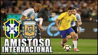 Video BRAZIL VS ARGENTINA - AMISTOSO INTERNACIONAL 2018 EN VIVO MP3, 3GP, MP4, WEBM, AVI, FLV Oktober 2018