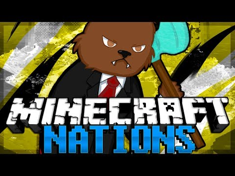 IS THIS A PRANK Minecraft Nations Minigame w/ BajanCanadian