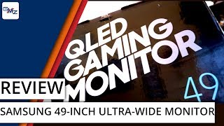 We review the biggest gaming monitor we have ever used.....ever.