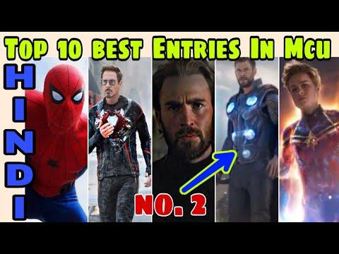 Top 10 biggest or best Entries in MCu | endgame, infinity, Ragnarok,civil war  Hindi Captain Hemant