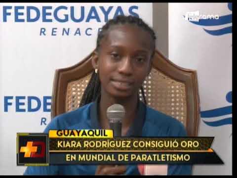 Kiara Rodríguez consiguió oro en mundial del paratletismo