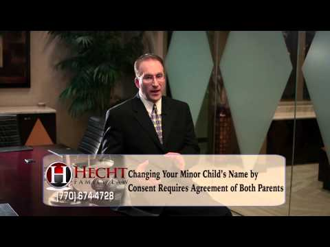 Norcross Divorce Attorneys-Buford GA Divorce Lawyers-Can I Change My Child's Name