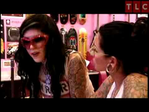 professional model with tattoos. Watch more LA Ink at: go.discovery.com