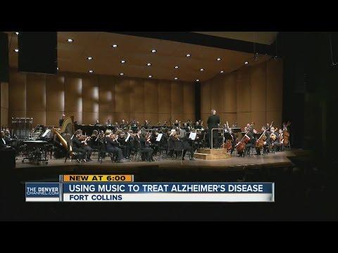 Using music to treat Alzheimer's disease