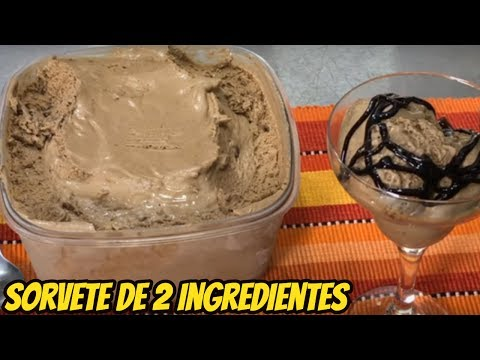 Sorvete 2 Ingredientes
