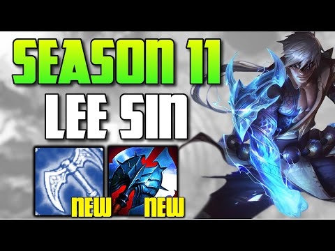 SEASON 11 LEE SIN IS HERE! THE NEW ITEMS WILL CHANGE EVERYTHING! (MYTHICS??) - League of Legends