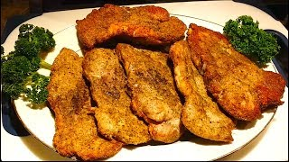 """How To Cook Tender & Juicy Pork Chops in Easy Steps in Oven with Indian/Punjabi Style. """"Washing Food: Does it Promote Food..."""