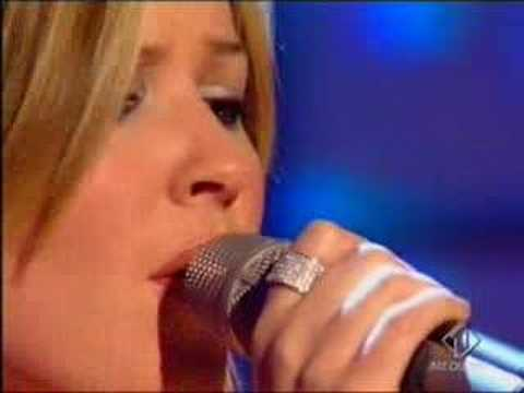 Dido - Dido performing 'White Flag' live at Top of the Pops, broadcast in September 2003.