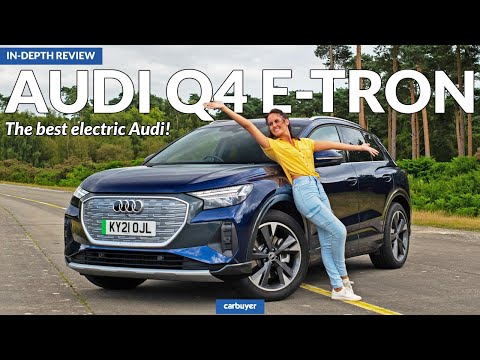 New Audi Q4 e-tron in-depth review: the best electric Audi!