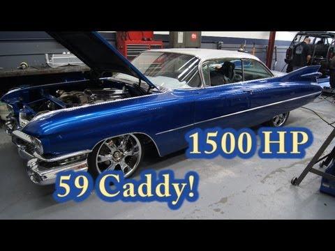 1959 Cadillac packs 472 cubic-inch Hemi