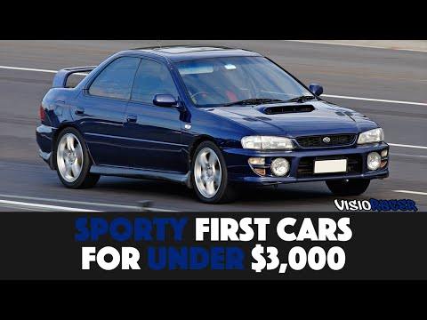 SEVEN Great First Cars For Under $3,000