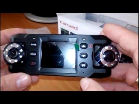 Видео обзор лучшего Видеорегистратора CarCam III X8000