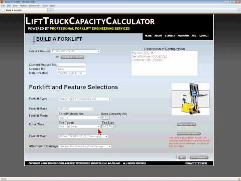 Lift Truck Capacity Calculator Welcomes New Mount Pleasant Businesses