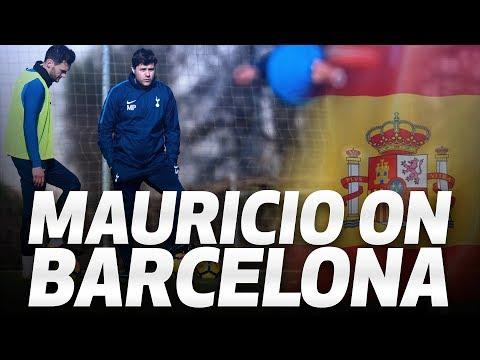 Video: MAURICIO POCHETTINO ON BARCELONA TRIP