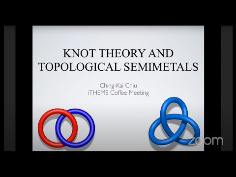 Knot theory and topological semimetals
